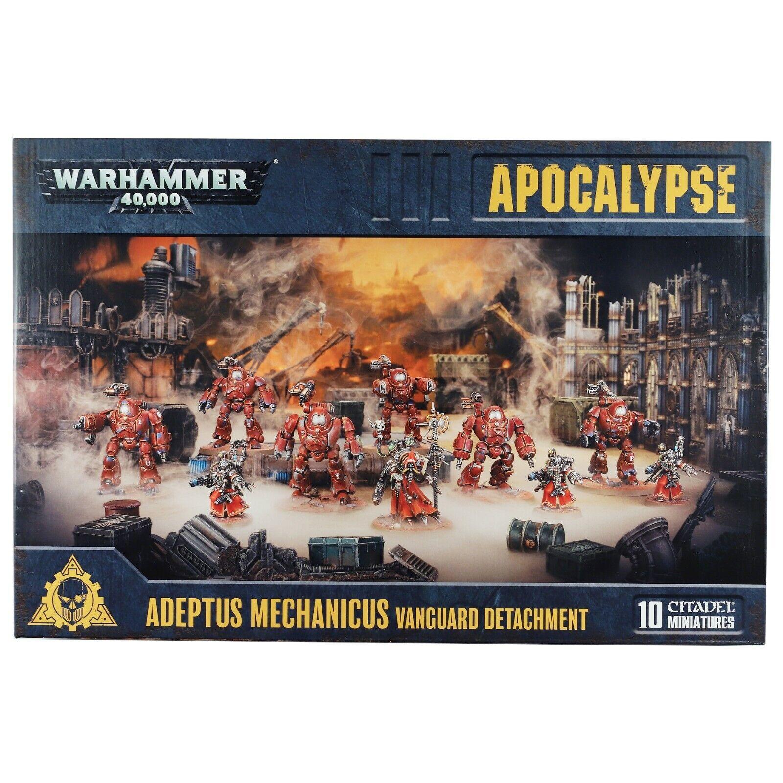 di moda Apocalypse Apocalypse Apocalypse Adeptus Mechanicus Vanguard Detachment Warhammer 40,000 (59-19)  colorways incredibili