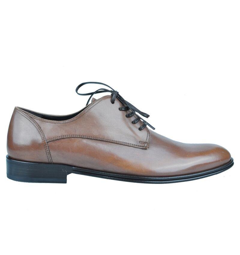 DOLCE & GABBANA Business Schuhe Braun Schuhes Braun Chaussures Brun 03409