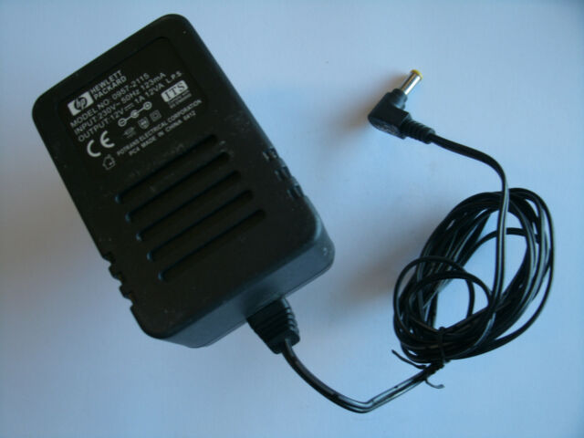 GENUINE HP POWER SUPPLY ADAPTER 0957-2115 12V 1A 12VA UK PLUG