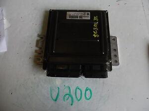 2005-NISSAN-350Z-COMPUTER-BRAIN-ENGINE-CONTROL-ECU-ECM-MODULE-U200