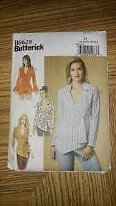Sewing Patterns for Misses//Woman/'s Blouses//Tops in Sizes 6-24 Pre-owned