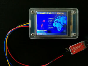 MMDVM-LCD-Display-Acrylic-034-S-034-Case-TJC-screen-2-4-039-039-USB-to-TTL-Adapter