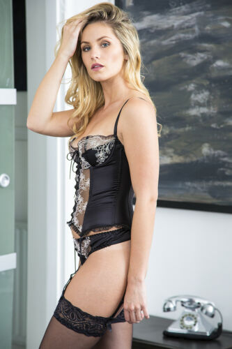 Sulis Silk Toulouse pure 100/% silk lace basque black lingerie made in England