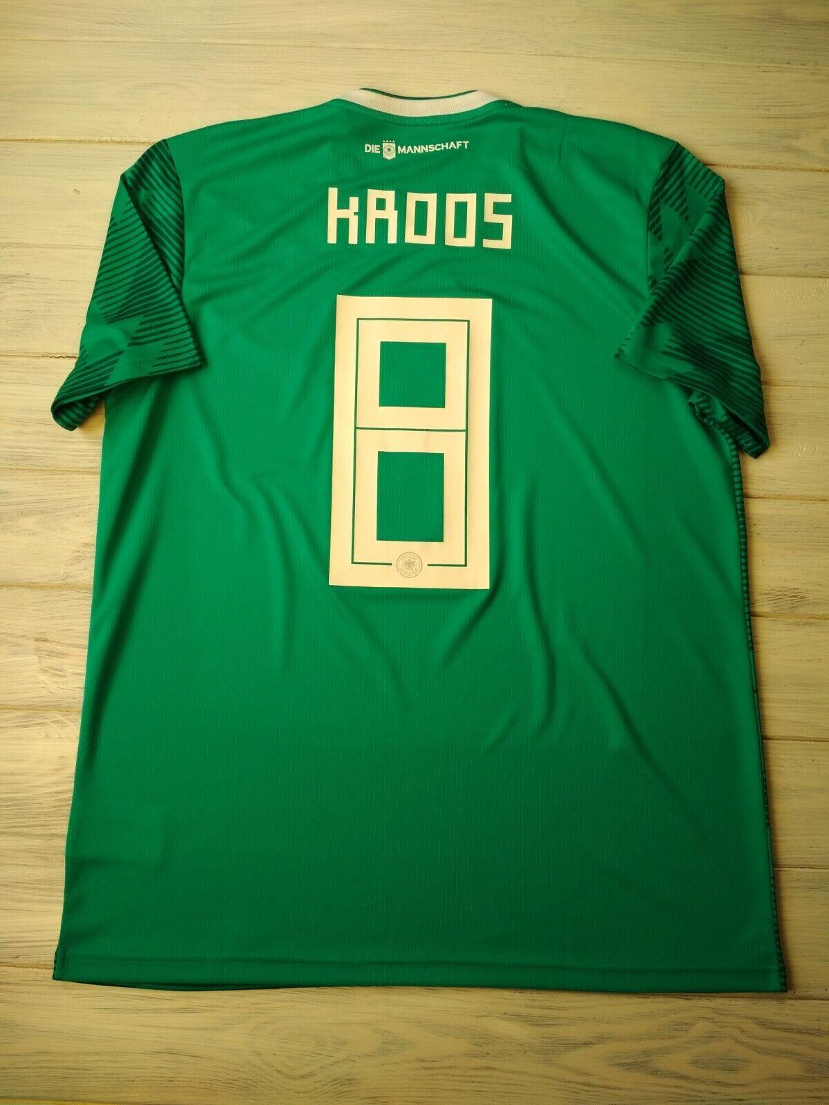 Kroos Geruomoy soccer jersey gree 2019 away shirt BR3144 soccer footbtutti Adidas