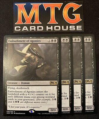 MTG Core 2020 Embodiment of Agonies Rare NM//Mint