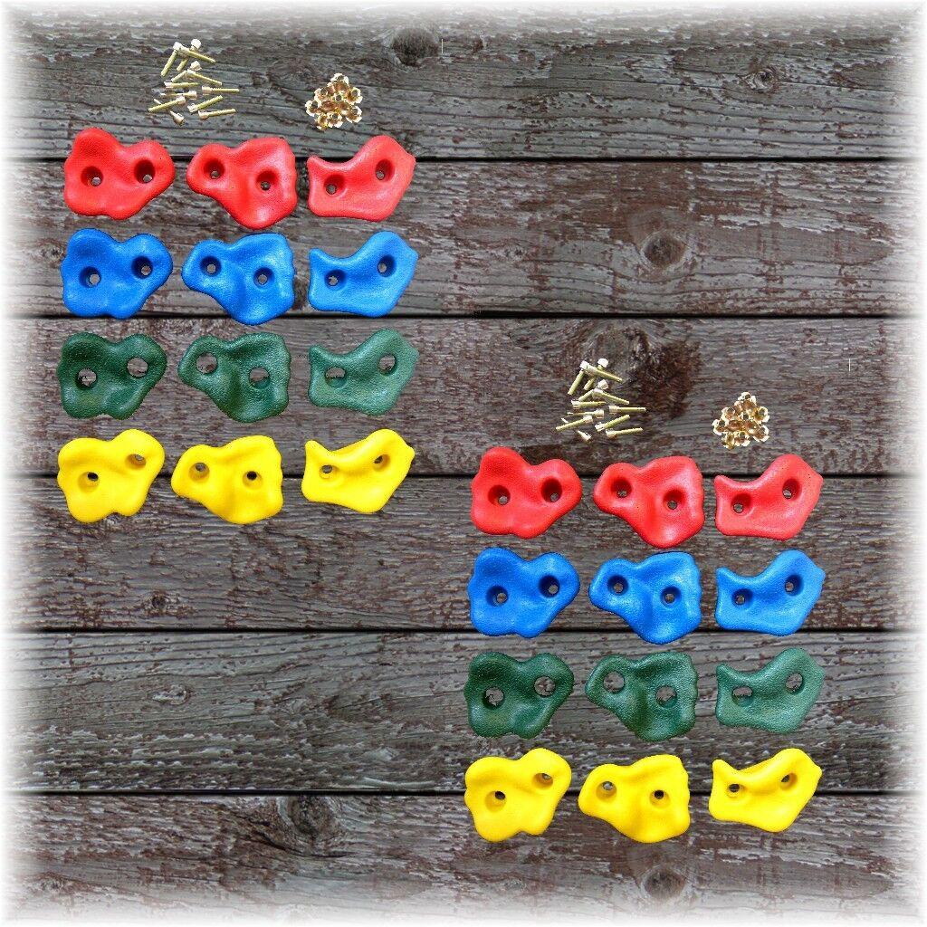 bienvenido a orden Juegos Piedras de de de Escalada 24er Establecido para Infantil Parojo  Mejor precio