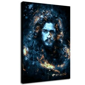 Details About 12 X18 Jon Snow Wallpaper Game Of Thrones Hd Canvas Print Painting Home Art