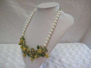 HEIDI-DAUS-034-Lemon-Blossoms-034-Bib-Style-Beaded-Necklace-Orig-289-95