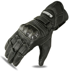 Motorbike Racing Gloves Motorcycle Rider Goat Leather Glove Black Medium - London, United Kingdom - Motorbike Racing Gloves Motorcycle Rider Goat Leather Glove Black Medium - London, United Kingdom