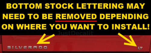 Truck Tailgate ZOMBIE RESPONSE VEHICLE Bed Decal Graphic Letters