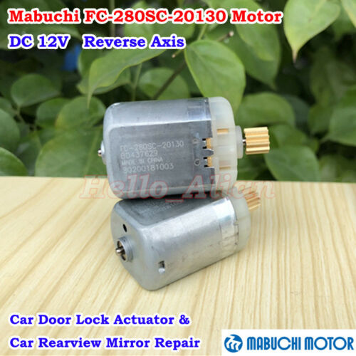Mabuchi FC-280SC-20130 DC 12V Motor DIY Car Door Lock Actuator Rearview Mirror