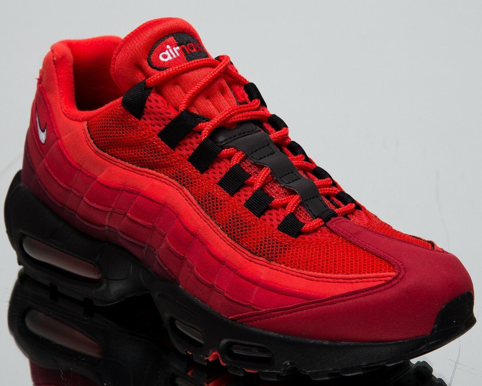 Nike Nike Nike Air Max 95 Og Habaschwarz Rot Neu Herren Lifestyle Schuhe Niedriges Top 485f8b