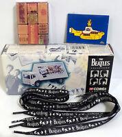 The Beatles : Aec 4 Wheel Flatbed Lorry, Magnets, Shoelaces Bundle (tk) (sc)