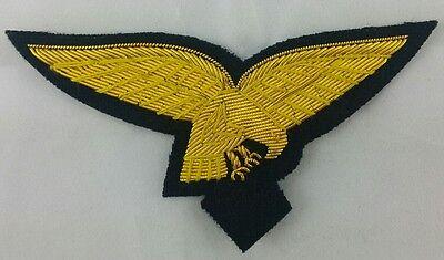 Brustadler Uniformabzeichen Offizier Uniform WH-Adler Bouillonstick