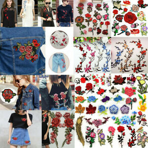 Embroidered-Sew-Iron-On-Patches-Badge-Hat-Bag-DIY-Fabric-Applique-Clothes-Craft