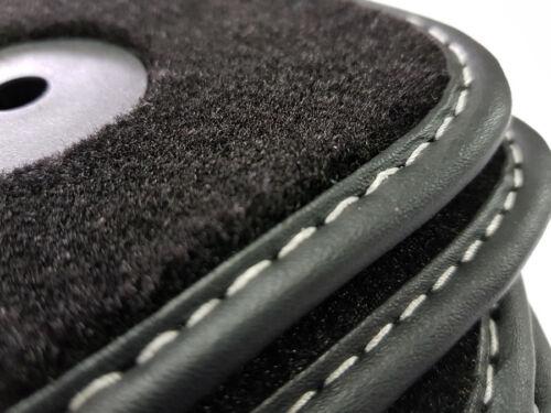 Neu Fußmatten für Audi A3 8V Bj.2013 Autoteppiche Velours Nubuk Premium