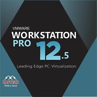 Vmware Arbeitsstation 12.5 Pro Lifetime 1 Pc Neueste Version 2016 Download