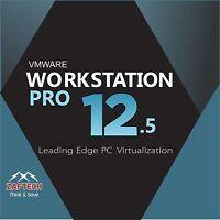 Vmware Arbeitsstation 12.5 Pro Lifetime 1 Pc Neueste Version 2016 Download