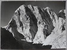 Grande Photo Tairraz Chamonix Tirage Argentique Montagne Vers 1950