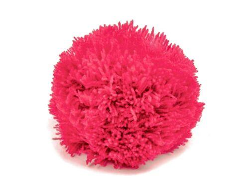 0,75€//1Stk pink 2 Bommeln // Wollbommeln 7cm