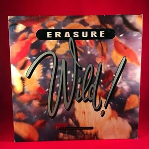 ERASURE-Wild-1989-UK-VINYL-LP-INNERS-EXCELLENT-CONDITION-STUMM75-MUTE-B