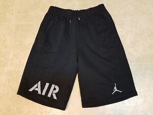 98ffd938a82 New NIKE Air Jordan Men's Retro 5 Shorts Black Grey 835376 010 MSRP ...