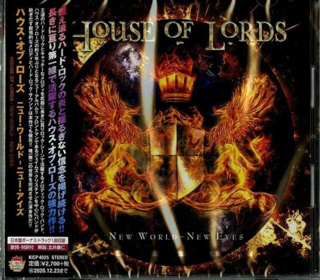 HOUSE OF LORDS-NEW WORLD - NEW EYES-JAPAN CD BONUS TRACK G09