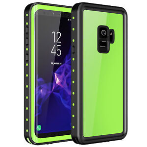 sale retailer 03d2f fe5cb Details about For Samsung Galaxy S9 Plus Waterproof Shockproof Case Built  in Screen Protector