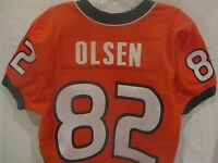 Greg Olsen Miami Hurricanes Game Used Jersey (2006) - Team LOA