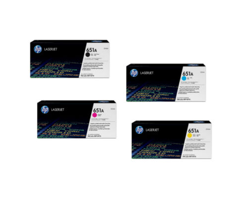 2 sets Virgin Empty Genuine HP Toner Cartridges CE340A CE341A CE342A CE343A