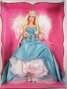 BARBIE-ANGEL-COUTURE-NRFB-PINK-LABEL-new-model-muse-doll-collection-Mattel