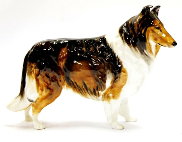 Royal Doulton- Rough Collie - Gloss Finish - Made in England, painted lovely!