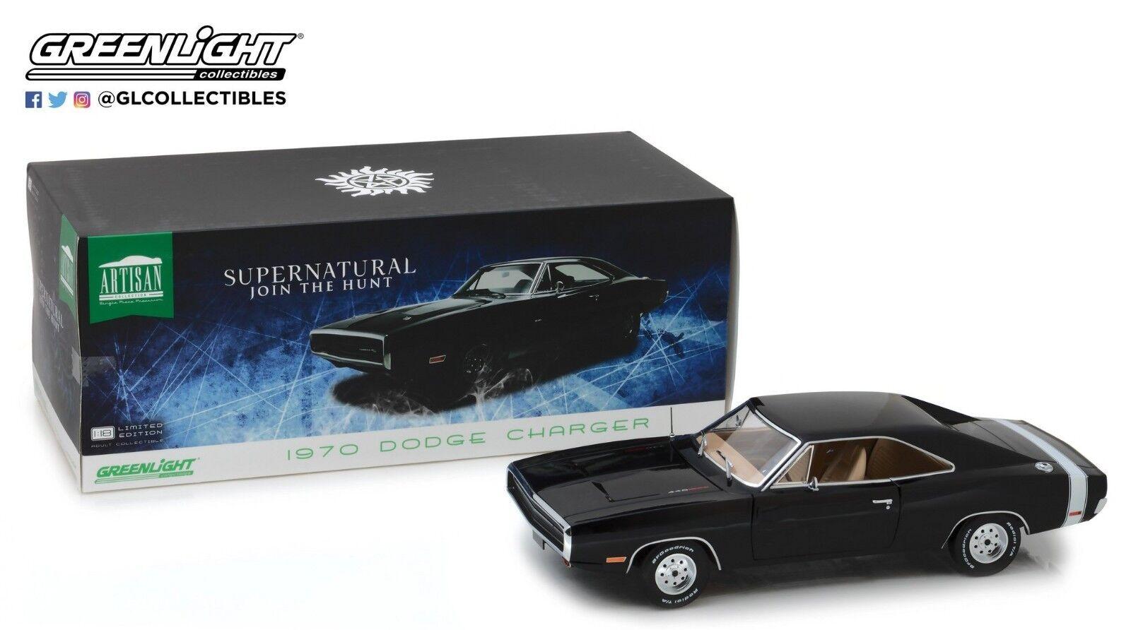 verdelight 1 18 Artisan Collection-sobrenatural 1970 Dodge Cochegador 19046