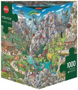 BIRGIT TANCK - ALPINE FUN - Heye Puzzle 29680 - 1000 Teile Pcs.