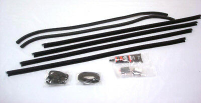 Set For Both Doors 1932 Ford 3 Window Coupe Front Window Channel Kit /'32 Duece