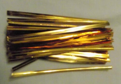 Metallic Twist Lazos 8cm elección 6 colores o Lote Mixto Ideal Para Violonchelo Bolsas Dulce