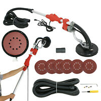 Electric Drywall Sander Variable Speed Vacuum Sander W/telescopic Handle,6 Pads