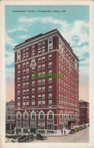 Image Is Loading Postcard Vicksburg Hotel Ms Mississippi