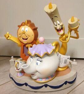 Medium / Moyenne Figurine Lum Belle Beauty & La Bete Beast Disneyland Paris