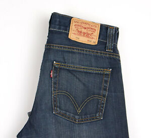 Levi-039-s-Strauss-amp-Co-Hommes-506-Standart-Jeans-Jambe-Droite-Taille-W32-L32-APZ937