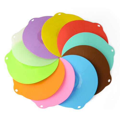 Silicone Boil Over Spill Lid Preservation Pan Cover Oven Safe Stopper Pot  HFZH