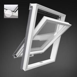 dachfenster holz weiss lackiert fakro konzern optilight vb w eindeckrahmen rollo ebay. Black Bedroom Furniture Sets. Home Design Ideas