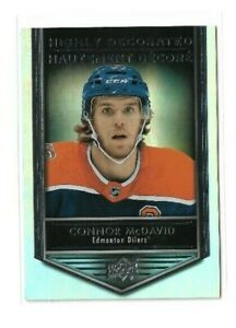 2019-20-UPPER-DECK-TIM-HORTONS-HIGHLY-DECORATED-HD15-CONNOR-MCDAVID-UD-OILERS