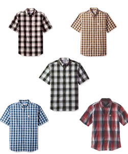 d38f20d56ac Image is loading Carhartt-Men-039-s-Shirt-Essential-Plaid-Button-