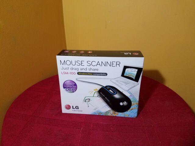 LG Mouse -Laser-Cable-Black-USB-1200 dpi-Scroll Wheel LSM-100