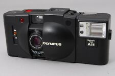Excellent+++++ Olympus XA2 35mm Rangefinder Camera w/ A11 Flash Unit from Japan