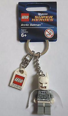 LEGO® Batman™ Schlüsselanhänger 850815 Arctic Batman™ Keychain Figur 6039454 NEU