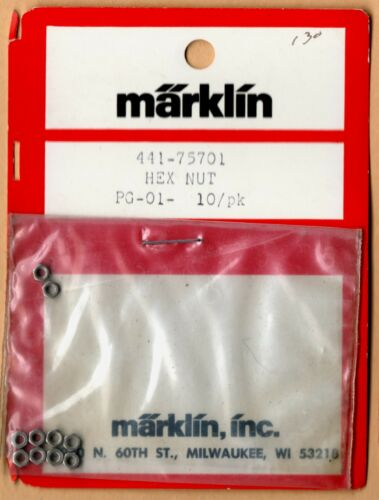 HO scale Marklin 75701 Hex Nuts