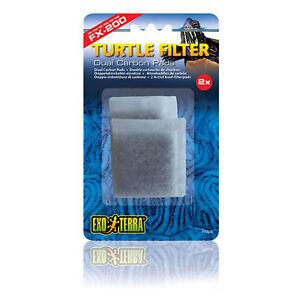 Exo Terra FX-200 Turtle Filtre Remplacement Carbone Sacs 3 Packs de 2-afficher le titre d`origine rE1kx2uF-07203914-126747085