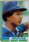 1982 Topps Rafael Ramirez #536 Baseball Card
